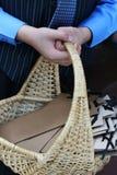 Basket Of Programs Stock Photo