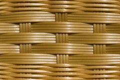 Basket pattern. Close up detail of basket bottom Royalty Free Stock Photos