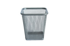 Basket for pencils royalty free stock images