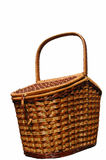 The basket for picnic. Royalty Free Stock Image