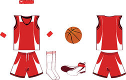 Basket Player Equipment Royalty Free Stock Image