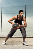 Basket Player Stock Photography