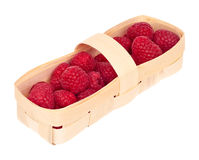 Basket with a raspberry Stock Image