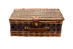 Basket Rattan Royalty Free Stock Photography