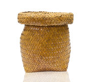 Basket rattan Stock Images