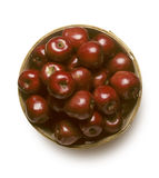 Basket of Red Delicious Apples Stock Photos