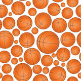 Basket seamless pattern Royalty Free Stock Images