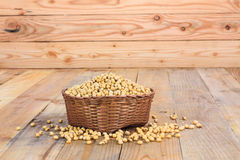 Basket with Seeds Stock Photos
