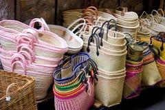 Basket shop Royalty Free Stock Photos