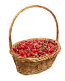 Basket of strawberries Stock Photography