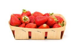 Basket strawberry Royalty Free Stock Photo