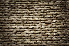 Basket texture. Background of brown wicker rings stock image