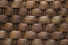 Basket texture background Stock Photography