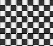 Basket Texture in Black and White Royalty Free Stock Image