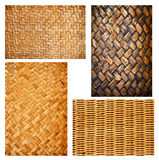 Basket texture collection Royalty Free Stock Image