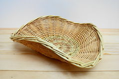 Basket triangular. Royalty Free Stock Photo
