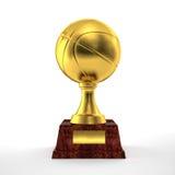 Basket trophy Stock Image
