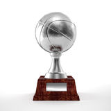 Basket trophy Stock Photography