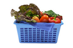 Basket Vegetables Royalty Free Stock Photography