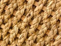 Basket weave. Detail of basket royalty free stock photo