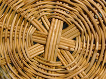 Basket weave. Detail of basket royalty free stock image
