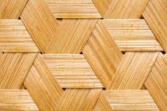 Basket weave. Closeup of weave pattern on basket royalty free stock photos