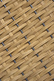 Basket weave. On a metal frame Royalty Free Stock Photos