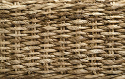 Basket Weave. Close up of a woven basket Stock Photos