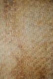 Basket Weave. Old worn tan basket weave Stock Photography