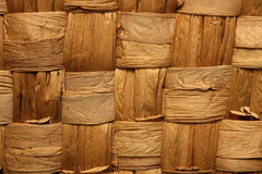 Basket weave. Brown square basket weave texture Royalty Free Stock Photos