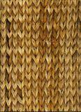Basket weave. Woven basket texture made from natural material Royalty Free Stock Photography