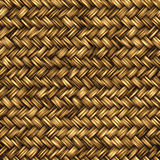 Basket weave. Great background image of wooden bambo or wicker basket weave Royalty Free Stock Photography
