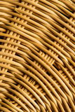 Basket weave, closeup. Of the pattern Royalty Free Stock Photos