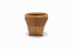 Basket weave isolated Stock Image