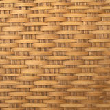 Basket weave pattern. Wooden basket weave pattern use as background stock photo