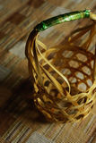 Basket weave. At present, in some areas also use bamboo basket weave together Stock Photo