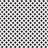 Basket Weave Seamless Pattern Stock Image