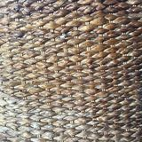 Basket weave texture crafted by hand Stock Photo