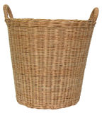 Basket wicker. Hand made basket wicker made in Thailand Stock Images