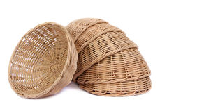 Basket wicker Stock Photo