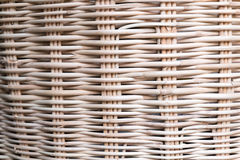 Basket wicker, ratten background Stock Images