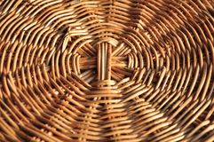 Basket wicker is Thai handmade. it is woven bamboo texture for background and design. Traditional Thai woven straw texture. Design, detail, furniture, hand royalty free stock photography