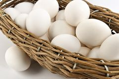Free Basket With Eggs Royalty Free Stock Photo - 1991225