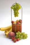Basket With Fruits III Royalty Free Stock Photo