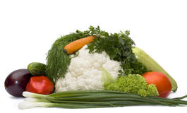 Basket With Vegetables Stock Image