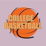 Basketabstrakt begrepp Arkivbilder