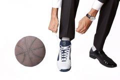basketaffärsmannen några stoppar Royaltyfria Foton