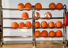 Basketbälle Stockbild