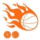 Basketbal royalty-vrije illustratie