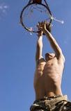 Basketbal 9 van de straat Royalty-vrije Stock Foto